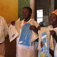 Entrega Ropa ORBEA en Oussouye