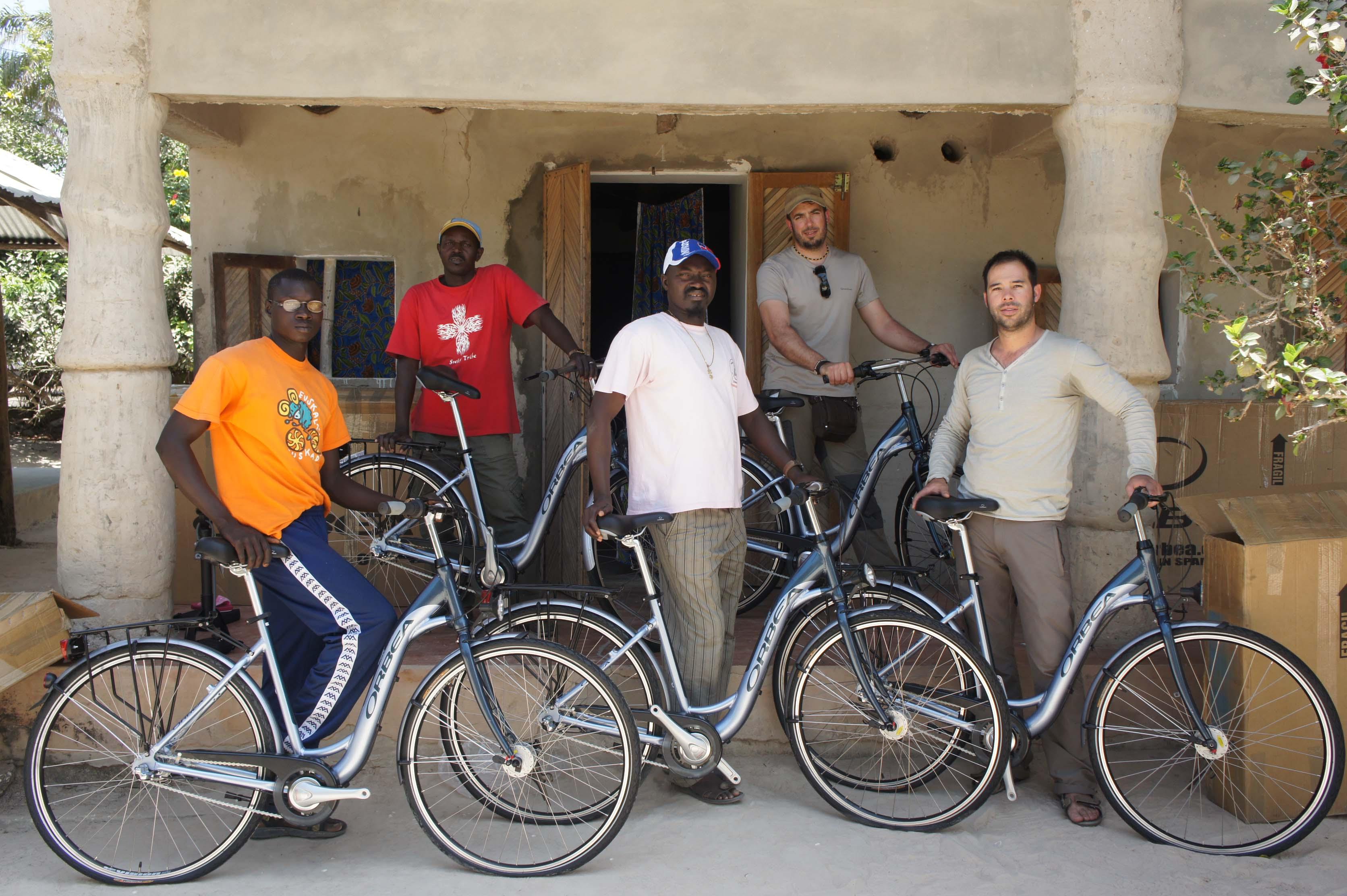 Bicicletas para Centros Educativos en Senegal