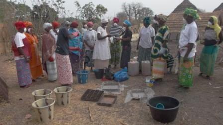 Fabricación de jabones en Dande, Thiabedji y Tepere Diantum