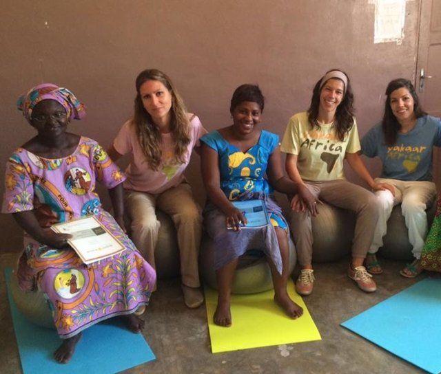 Nerea en Senegal 1