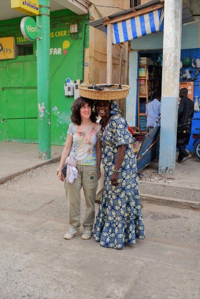 Agustina en Senegal con Yakaar frica 1