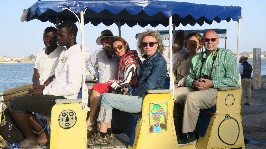 Javier Herrero en Senegal con Yakaar África