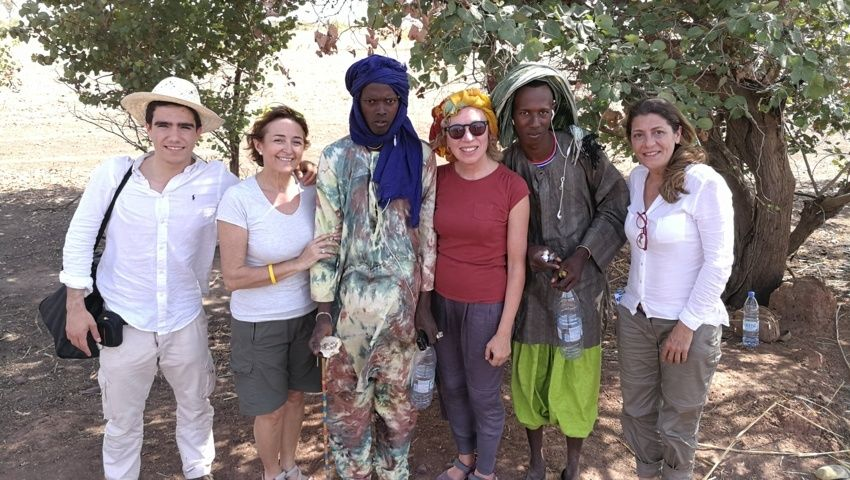 Mari Angeles en Senegal con Yakaar Africa