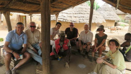 Javier Herrero en Senegal con Yakaar África 2