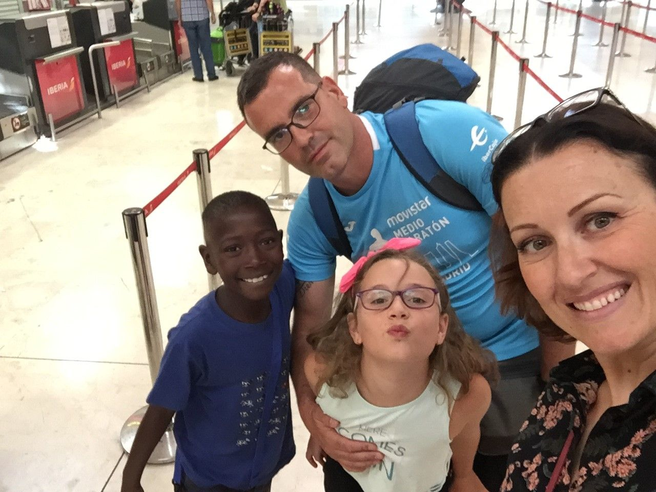 Viaje de Jose Manuel a Senegal con Ousmane