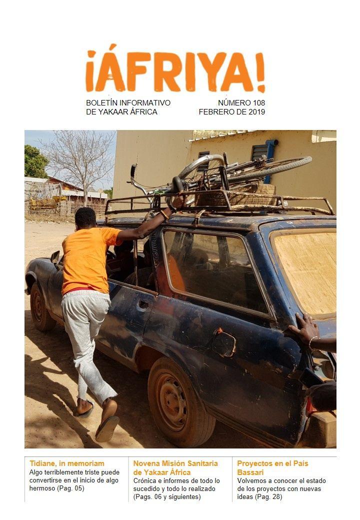 Boletín 108 de Yakaar África