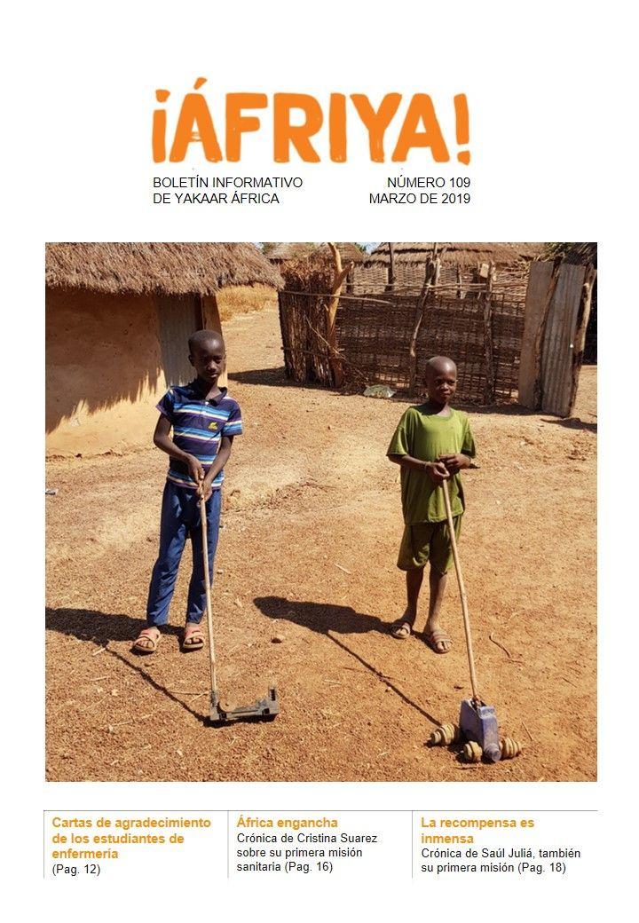 Boletín 109 de Yakaar África