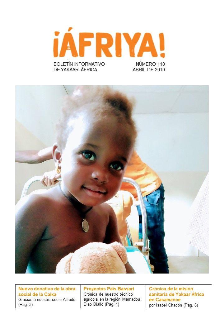 Boletín 110 de Yakaar África